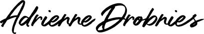 Adrienne Drobnies Logo